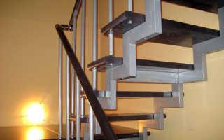 Лестница из профильной трубы своими руками: как сделать косоур, на даче на мансарду