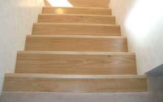 Лестница из ламината: облицовка ступеней