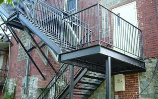 Пожарная наружная лестница: требования и стандарты