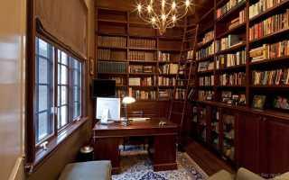 Лестница для библиотеки: мини-стремянка для библиотечного стеллажа