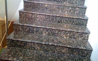 Характеристики гранитных ступеней и их особенности