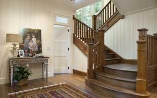 В частном доме лестница на второй этаж: как сделать из дерева и металла, расчет винтовой и маршевой