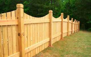 Установка деревянных заборов: виды, подсчет материала, нюансы