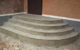Крыльцо с полукруглыми ступенями (фото): плитка, кирпич, камень