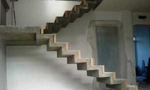 Особенности расчета бетонной лестницы