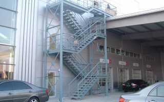 Лестница 3 типа: разновидности эвакуационных лестниц