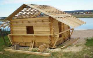 На какие детали стоит обратить внимание при постройке бани?