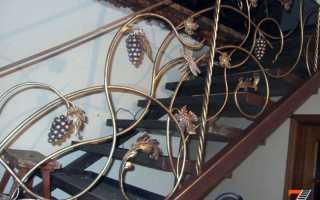 Железная лестница из профильной трубы или швеллера, уголка или профиля на второй этаж (фото)