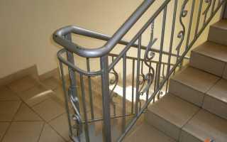 Металлические ограждения лестниц (деревянные, сварные, от детей) своими руками: фото