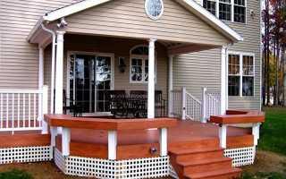 Красивое крыльцо: дизайн и идеи для частного дома, виды конструкций (высокое, закрытое, на две стороны)