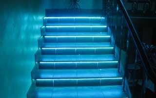 Автоматическая подсветка лестницы: типы и необходимое оборудование