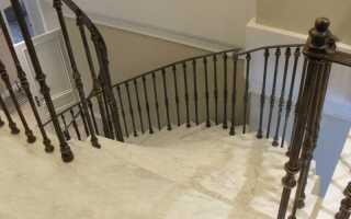 Балясины для лестниц металлические (нержавейка): фото и цена