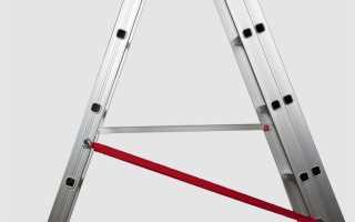 Алюминиевая стремянка «Эйфель комфорт-105»: устройство и преимущества