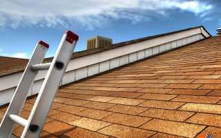 Для чего и как делается лестница для крыши