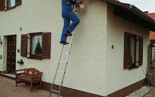 Лестница приставная алюминиевая, ее недостатки и достоинства
