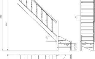 Чертеж лестницы: порядок составления и советы специалистов