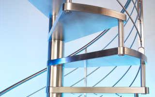 Ступени для лестниц металлические: конструктивные особенности