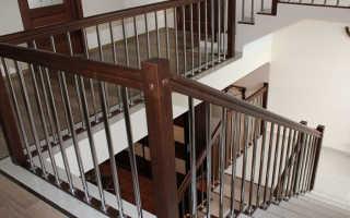 Расчет необходимой высоты ограждения лестницы