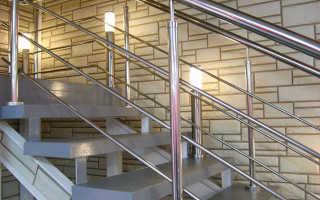 Методы усиления перил лестницы для частного дома