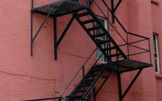 Типы пожарных лестниц и их применение