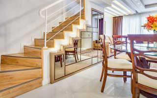 Как разместить шкаф под лестницей в своем доме