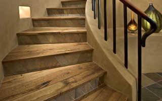 Правила и порядок отделки лестницы