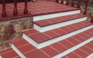 Противоскользящая и морозостойкая плитка для крыльца: уличная для ступеней с нескользящей поверхностью и наружная резиновая нескользкая