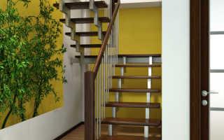 П образная лестница: виды и особенности изготовления
