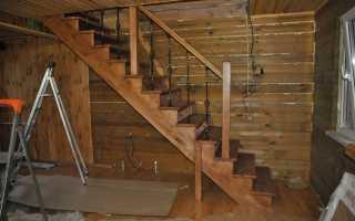 Винтовые лестницы для дачи на второй этаж (полувинтовые): перила и ступени из дерева