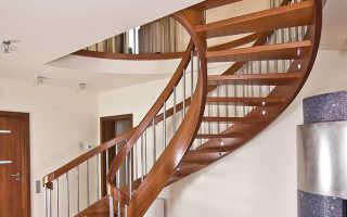 Как сделать круговую лестницу на второй этаж в доме