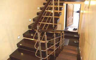 Как сделать лестницу из нержавеющей стали