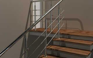 Виды перил из нержавеющей стали для лестниц