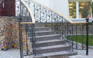 Высота перил на лестнице, согласно ГОСТу