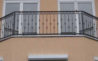 Кованые ограждения балконов и перил (фото)