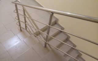 Технология изготовления поручней для лестниц