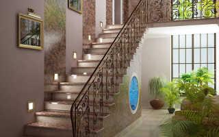 Особенности лестничного проема в частном доме