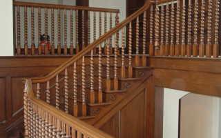 Балясины для лестницы, их виды и способы монтажа