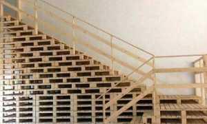 Лестница из поддонов: очередной лайфхак от народных умельцев