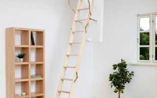 Чердачный люк с лестницей: размеры, конструкция и советы специалистов