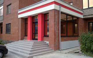 Входная группа: в частный дом и офисное здание, конструкции и оформление (алюминий, стекло, пластик)