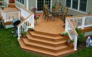 Особенности установки лестницы для крыльца