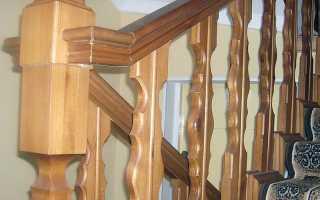 Балясины для лестниц деревянные, перила и столбы из сосны