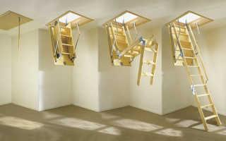 Лестница складная на чердак: чердачный люк и монтаж своими руками раскладной конструкции, чертеж и размеры
