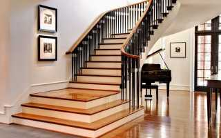 Высота ступени лестницы по ГОСТу, а также другие стандартные размеры ступеней: ширина и толщина