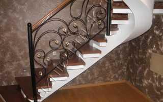 Ковка: перила, элементы лестничных ограждений (фото, цена)