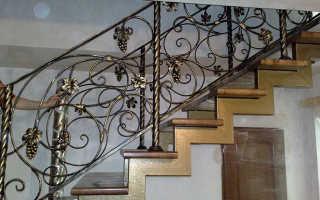Как сделать металлические перила для лестниц своими руками
