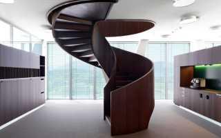 Винтовая лестница своими руками: поэтапное изготовление