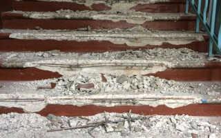 Ступеньки бетонные: ремонт и реставрация лестниц из бетона, чем отделать ступени