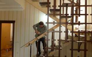 Монтаж лестницы на второй этаж своими руками: как установить, как закрепить, поэтапная инструкция