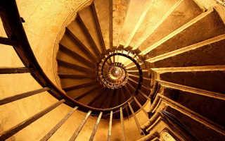 Как провести расчет винтовой лестницы для дома